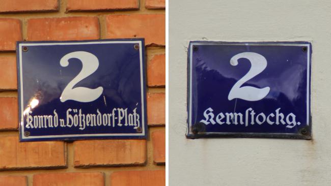 Straßennamen Mistelbach