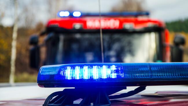 Blaulicht Feuerwehr Rettung Polizei Symbolbild