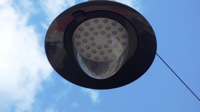 Laterne Beleuchtung Straßenbeleuchtung Symbolbild
