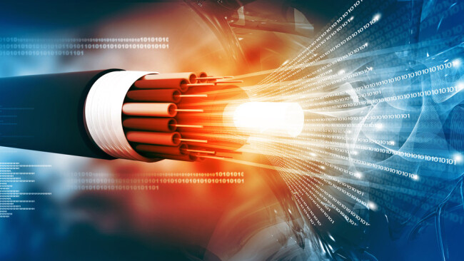 Glasfaser Symbolbild Glasfaserkabel Internet