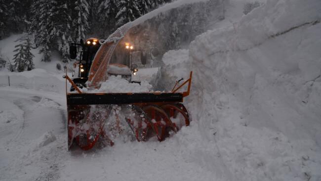 Schneeräumung Hochkar