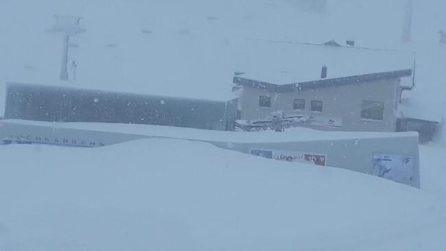Hochkar Schneefall Schneechaos Wintereinbruch Lawinengefahr Symbolbild Winter