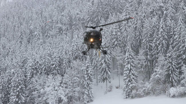 Hubschrauber Hochkar