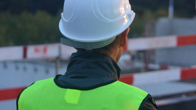 Bauarbeiter Baustelle Symbolbild