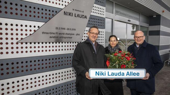 Lauda-Straße Flughafen Wien