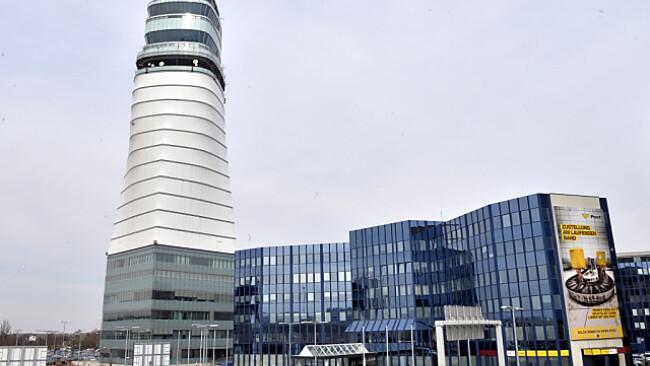 Tower auf dem Flughafwen Wien