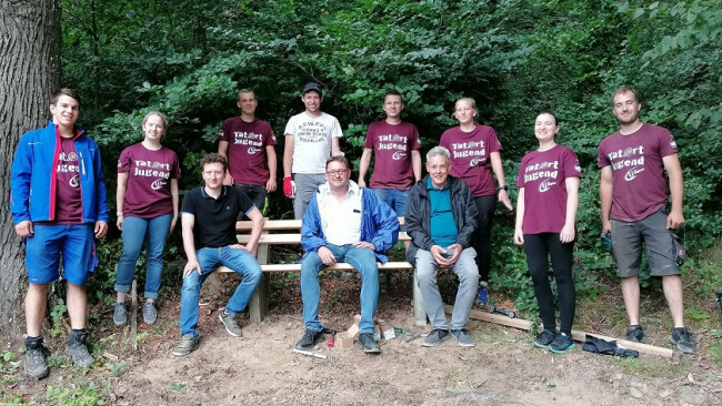Edlitz Landjugend nahm wieder an Projektmarathon teil