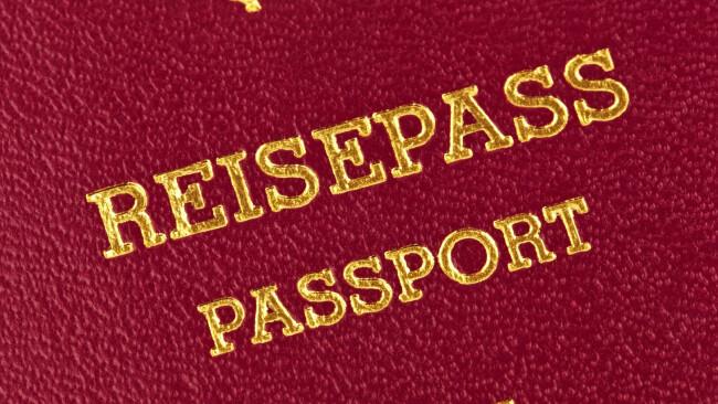 Symbolbild Reisepass Passport