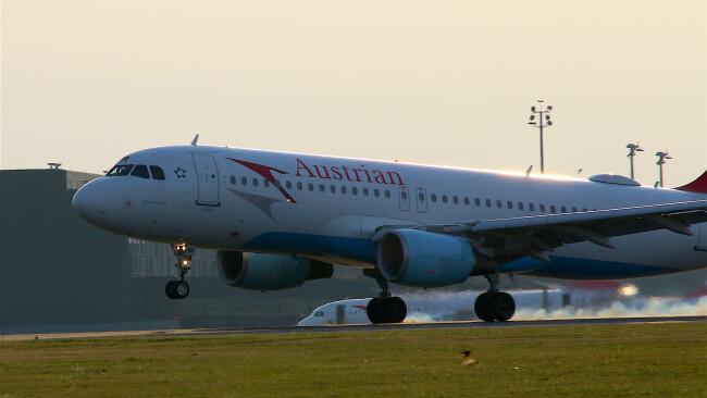 Symbolbild Flugzeug Austrian Airlines