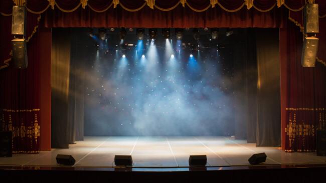 Symbolbild Bühne Theater Theaterbühne Plattform