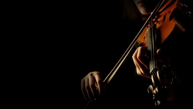 Geige Violine Klassik Kammermusik Symbolbild Kultur Musik