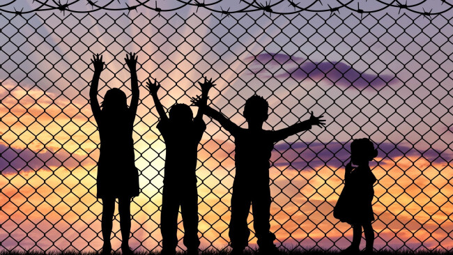 Asyl minderjährige Flüchtling Flüchtlinge Kinder Flüchtlingskinder Flüchtlingslager Symbolbild