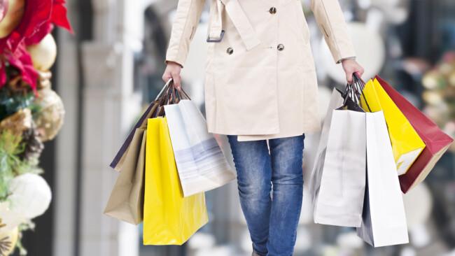 Shopping Einkauf Einkaufen Symbolbild