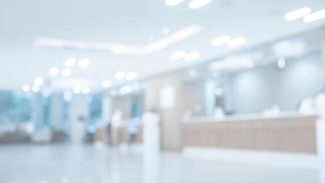 Krankenhaus Spital Warteraum Symbolbild