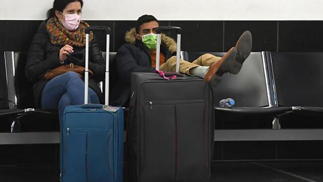 Die Zahl der Passagiere ist auf einem Minimum