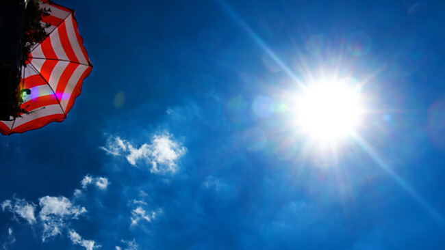 Die Sonne kennt derzeit kein Erbarmen
