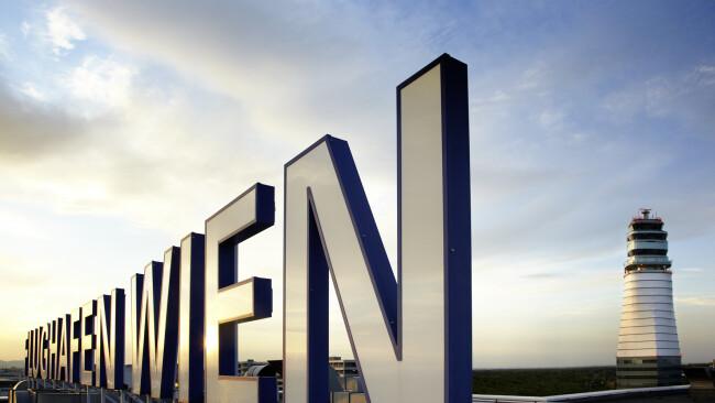Flughafen Wien Flughafen Schwechat Symbolbild
