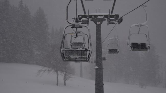 Ötscher Zu viel Schnee: Lifte und Loipen teilweise gesperrt