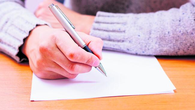 Brief Leserbrief Symbolbild