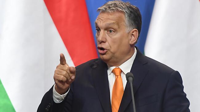 Orban nannte türkis-blaue Bundesregierung als Vorbild
