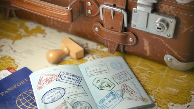 Reisepass Reise Symbolbild