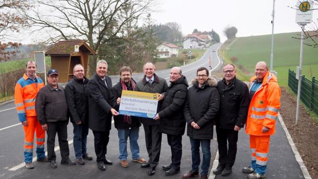 Wieselburg-Land - Sanierung der neuen Landesstraße 105 abgeschlossen
