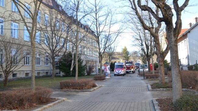Gymnasium in der Biondekgasse in Baden Brand