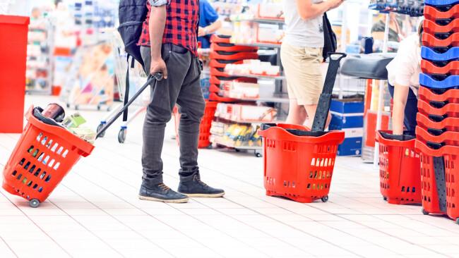 Einkauf Konsum Supermarkt Symbolbild