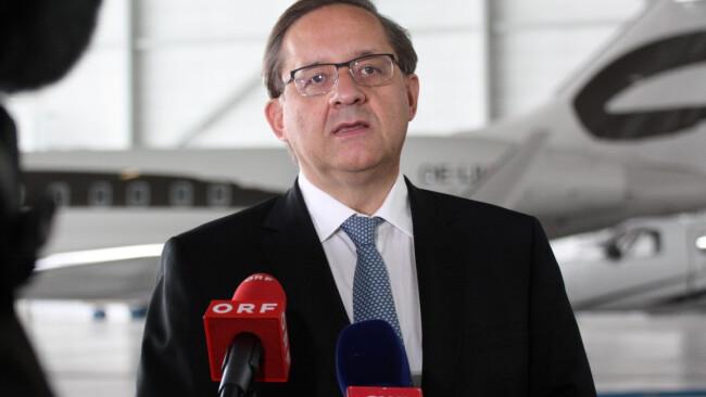 Flughafen-Chef Günther Ofner
