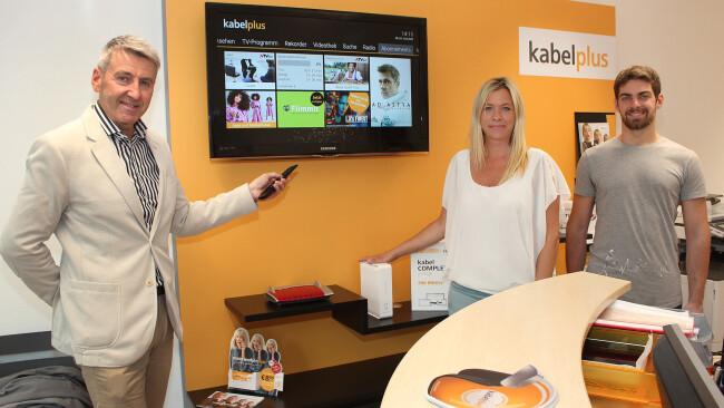 Kabelplus Service Center in Schwechat zum 20jährigen Jubiläum rundum erneuert
