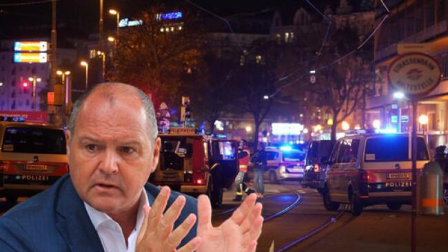 Polizei-Großeinsatz - Ybbser Stadtchef Augenzeuge bei Schüssen in Wien