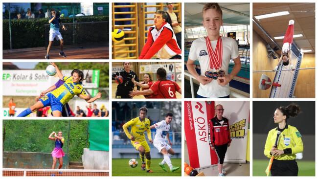 Sportlerwahl WR Neustadt Collage