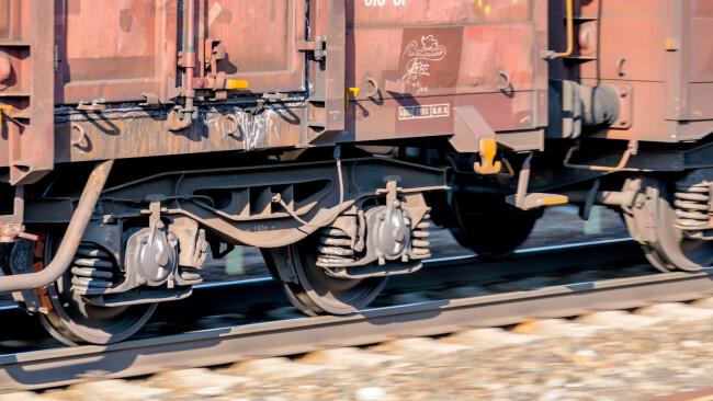 Güterzug Gleise Schienen Zug Bahn Symbolbild