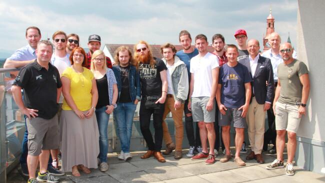 Bands, Wirte, Sponsoren und die Organisatoren Pflastersound 3.0