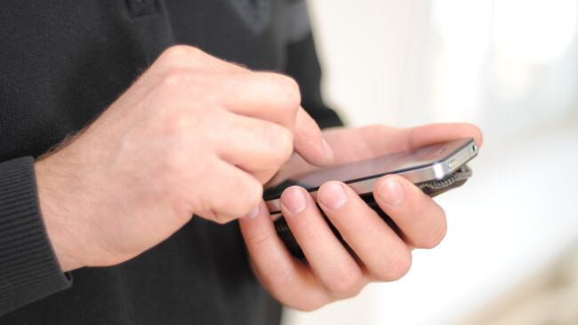 Handy Smartphone Telefon Symbolbild