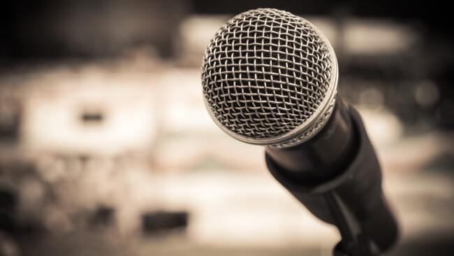 Mikrofon Symbolbild
