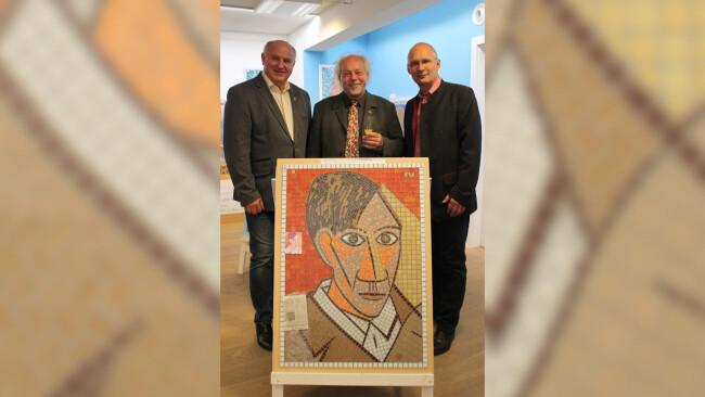 Wendl Neier Stachelberger mit Picasso