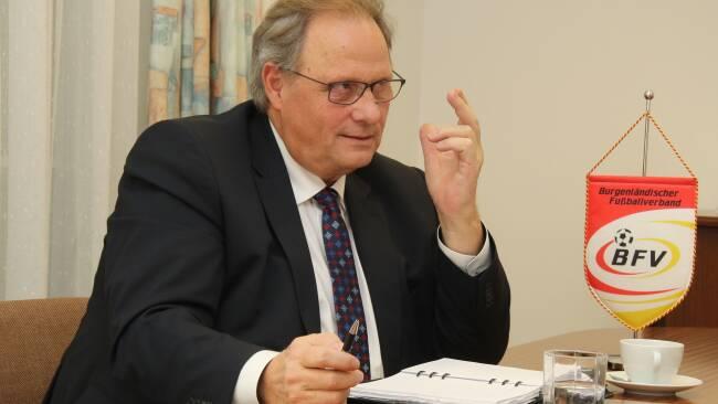 BFV-Präsident Gerhard Milletich
