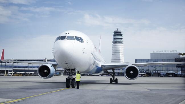 Flughafen Wien Symbolbild