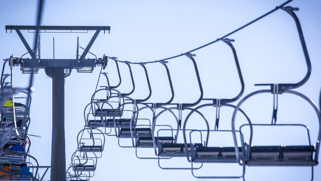 Ski Skilift Skigebiet Symbolbild