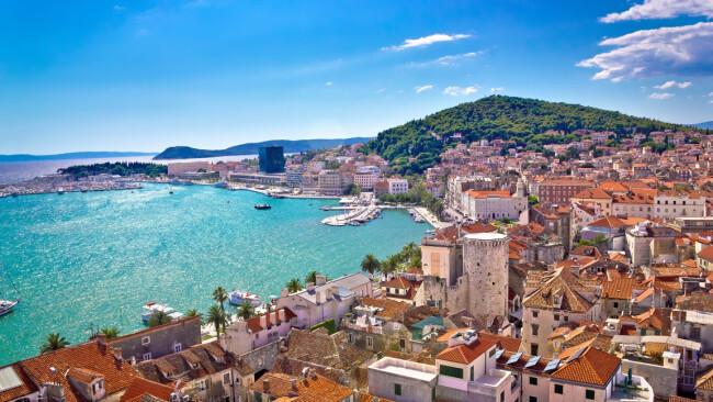 Kroatien Split Symbolbild