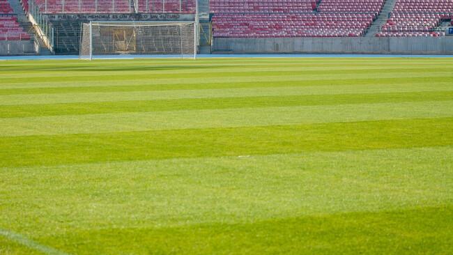 Stadion Fußball Symbolbild