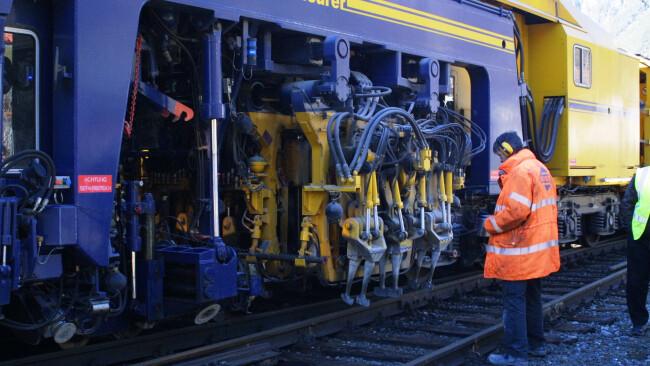 Gleisarbeiten Anfang März zwischen Ybbs und Amstetten