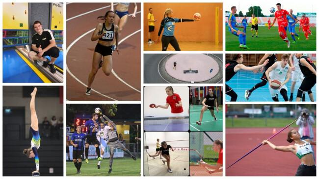 Sportlerwahl Collage Gänserndorf