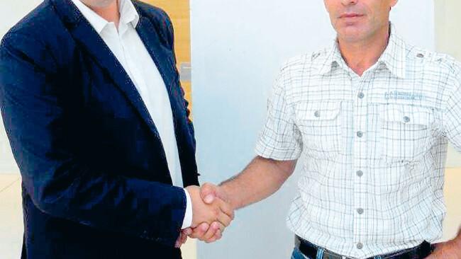 Markus Vetter (links) und Ibrahim B.