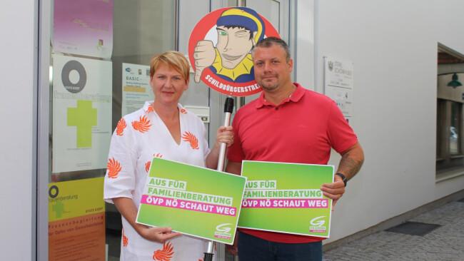 Amstetten Grüne: Schildbürgerstreich des Monats Juli
