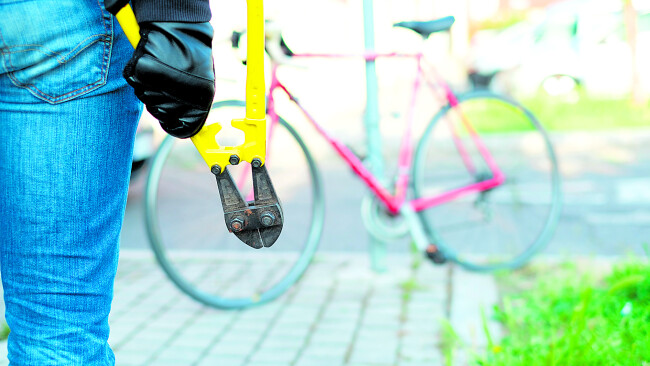 Fahrraddieb Symbolbild