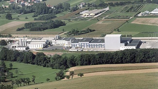 Berglandmilch-Standort in Aschbach