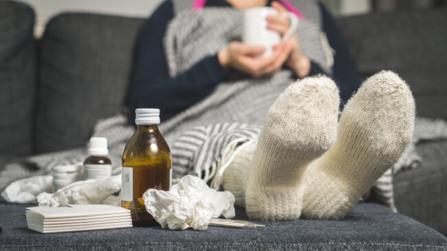 Coronavirus, Symbolbild, Husten, Schnupfen, Krank, Virus, Grippe