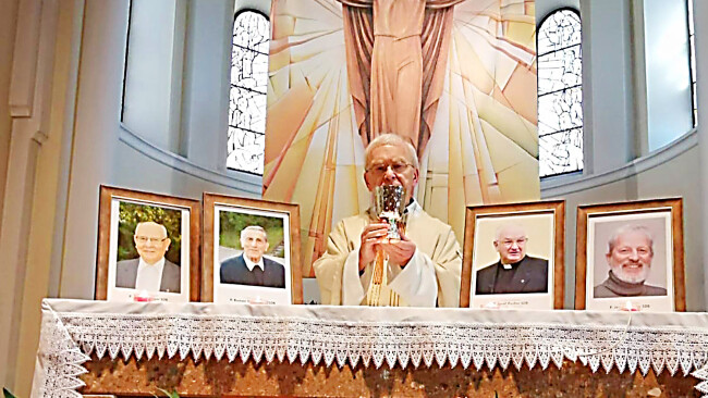 26. September: Gedenken an vier an Corona verstorbene Amstettner Patres